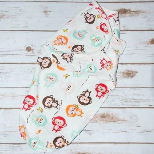Baby Infant Swaddle Wrap Blanket Size 0-12m Small/Medium 100