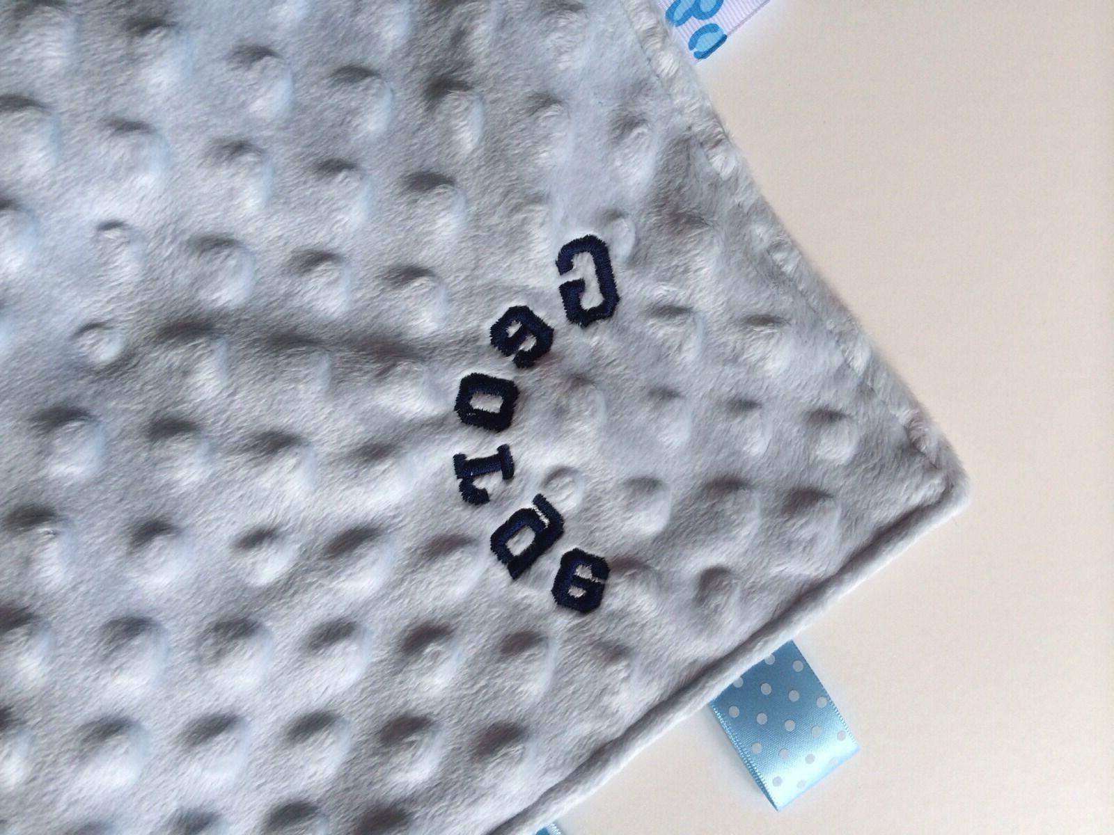 Personalised Baby / Comfort Great gift. taggy