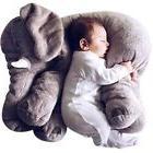 Baby Pillow Grey Elephant Stuffed Plush Pals Cushion Toy Cut