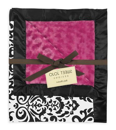 Hot Pink, White Swirl and Blanket Designs