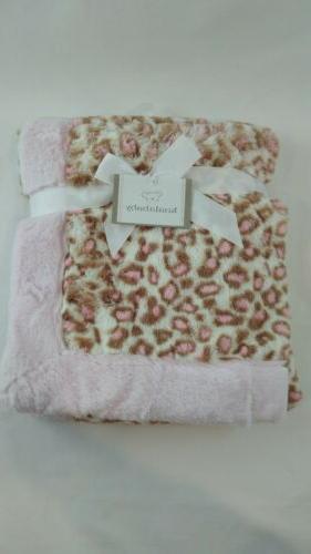 pink leopard blanket