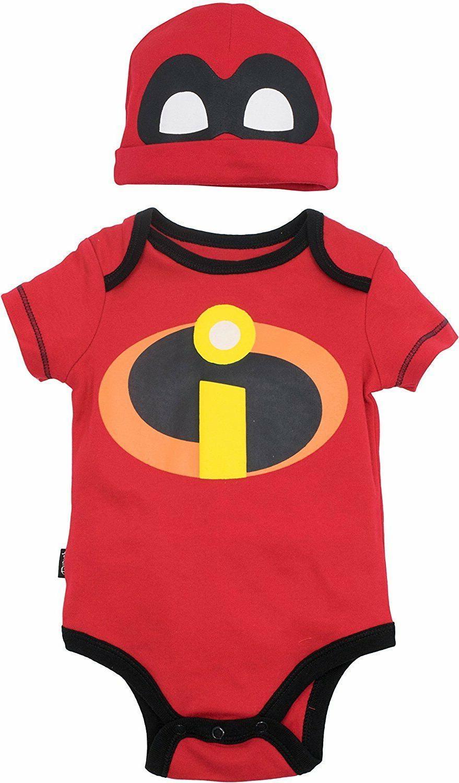 pixar the incredibles baby costume bodysuit