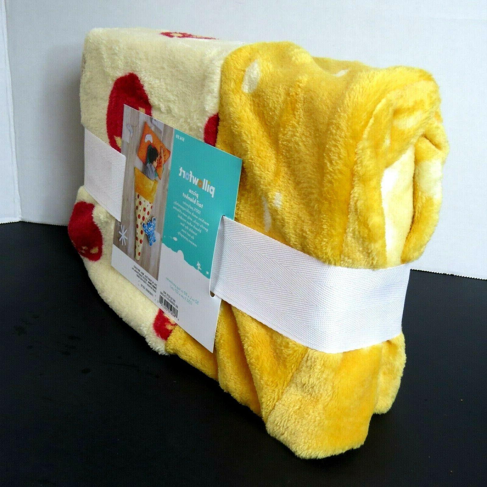 "Pillowfort Pizza Blanket ~ ~ 52"" top"