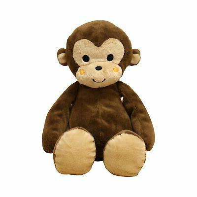 Plush Monkey Ollie Cute Stuffed Animal Curly Tails Soft Cudd