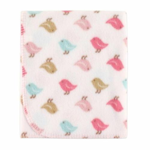 Luvable Printed Blanket, Birds