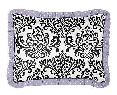 Purple White Polka Dot Girl Bedroom