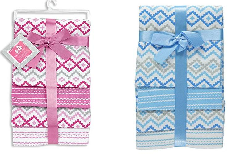 regent baby 4 piece cotton receiving blanket