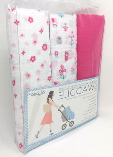 """Lollypop of Muslin Blankets Flowers """" x"""