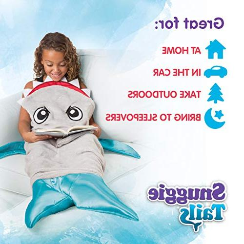 Snuggie Tails Shark Tails Comfy Cozy Super Soft