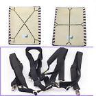 Sheet Straps Suspenders Gripper Holder Fastener Crisscross A