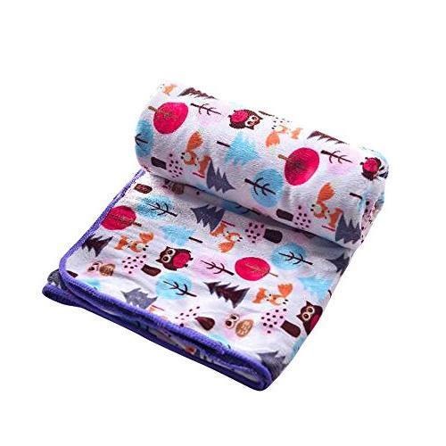 Genio Baby Baby Blanket x 40 Owl Baby Blankets, Blankets for Girls