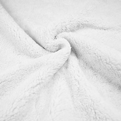 American Company Sherpa Security Blanket, White, for Boys and Girls