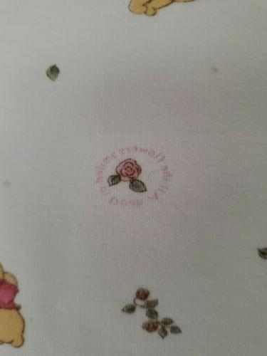 Disney Sincerely the Pooh Baby Blanket Cotton Pink