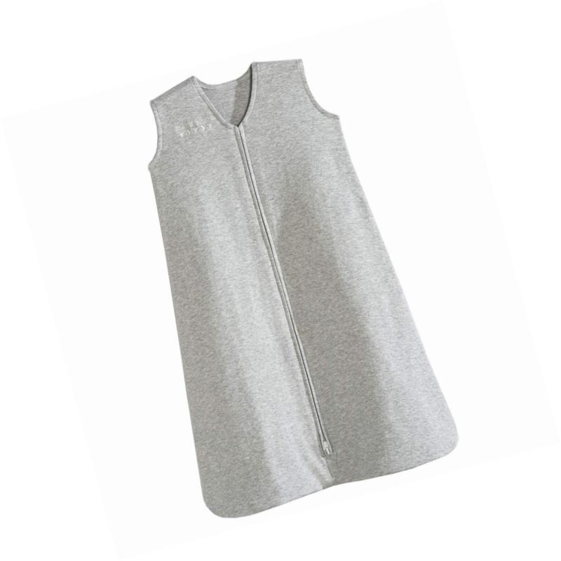 sleepsack 100 percent cotton wearable blanket heather
