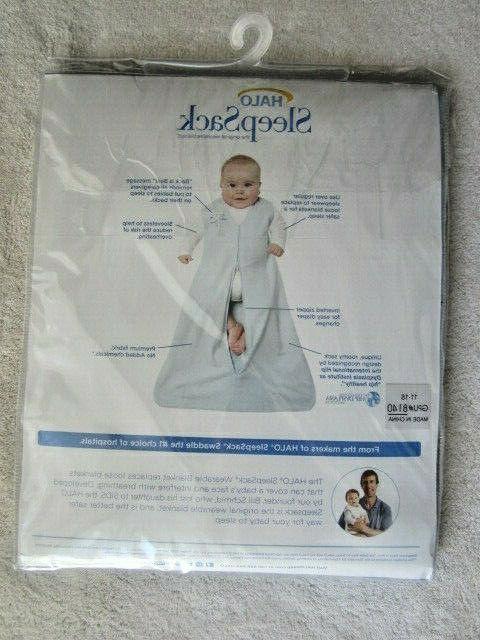 """HALO SleepSack Blanket XL 35""""-40"""" lbs, 100%"""