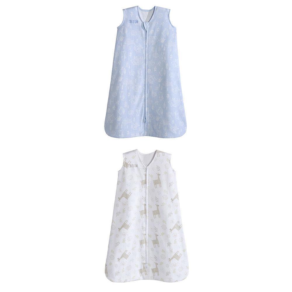 sleepsack infant cotton wearable blanket 2 pack