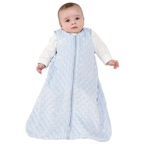 Velboa Wearable Blanket, Blue, Medium