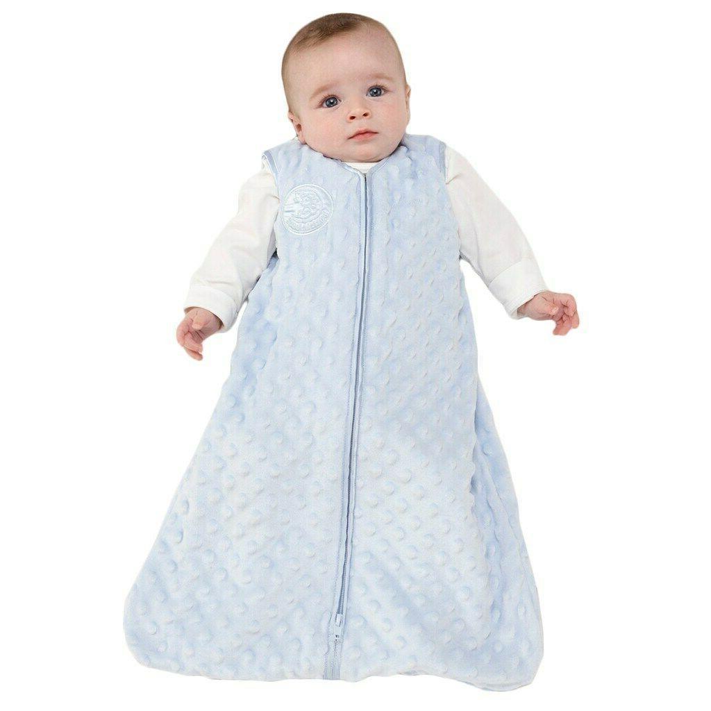 sleepsack plush dot velboa wearable