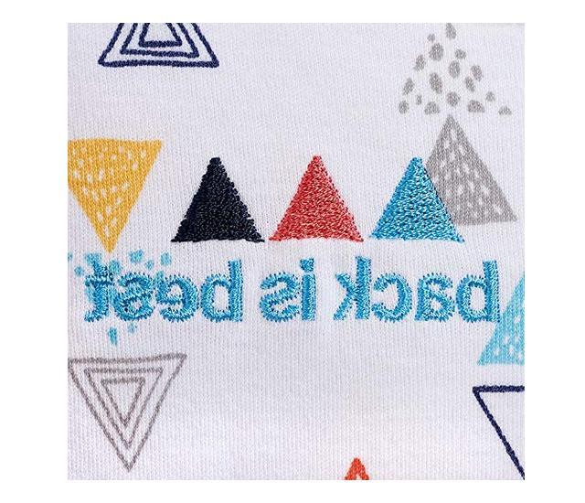 Halo Sleepsack Swaddle Wearable Blanket S 3-6mo Triangles