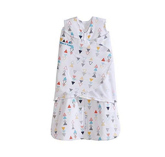 Halo Sleepsack Baby Wearable * Sz S Small Triangles