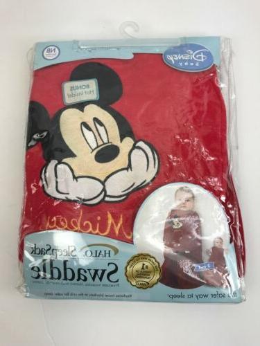 sleepsack swaddle mickey baby fleece blanket in