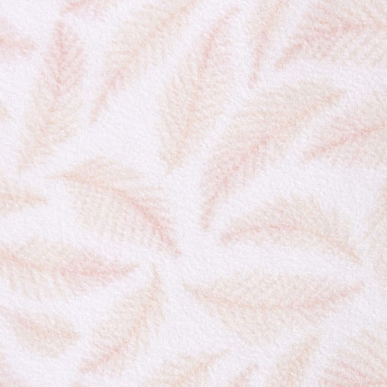 Halo Sleepsack Wearable Blanket Fleece Pine Leaves Pink, Large 3111