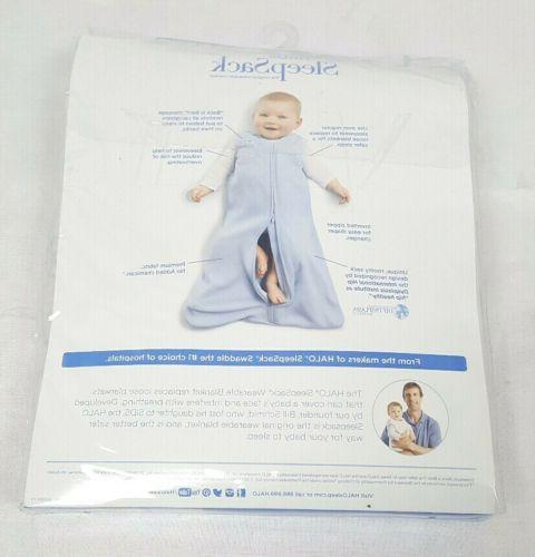 Halo Baby Fleece Blanket to 6 Cream Size S NEW