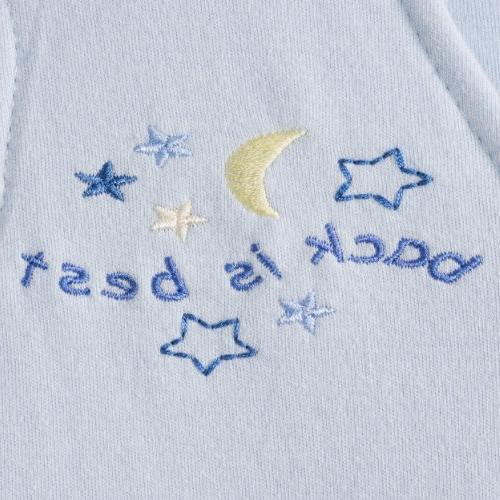 100% Cotton SleepSack Blanket Baby Blue - Size: