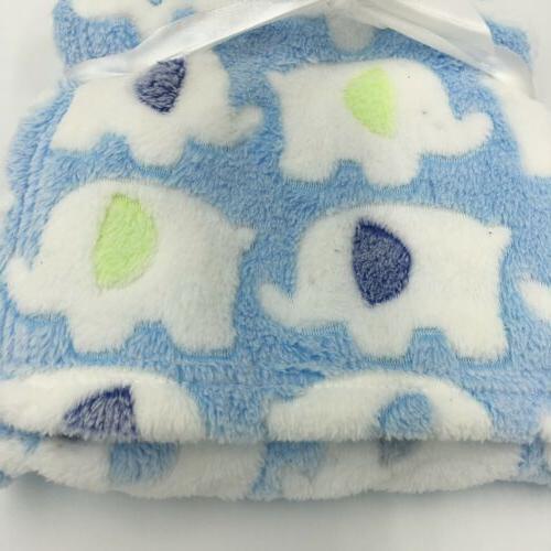 Snugly Plush Shower Gift Soft 30x30 Blue Green, L28