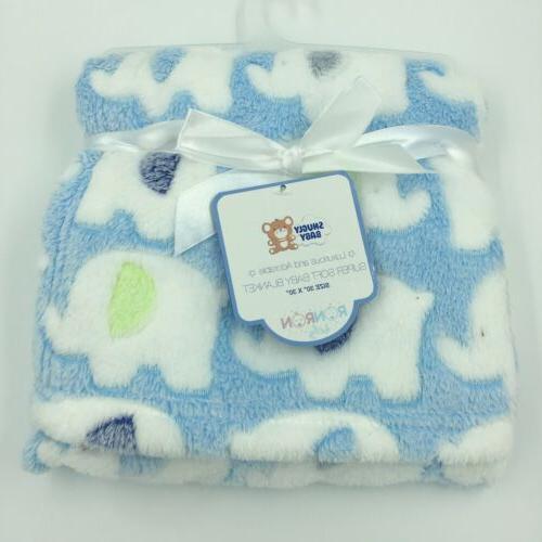 snugly baby plush blanket shower gift soft
