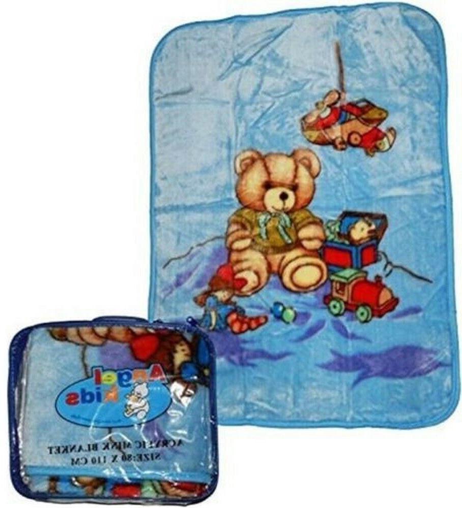 Soft Baby Newborn Toddler Blanket Basket Unisex Month