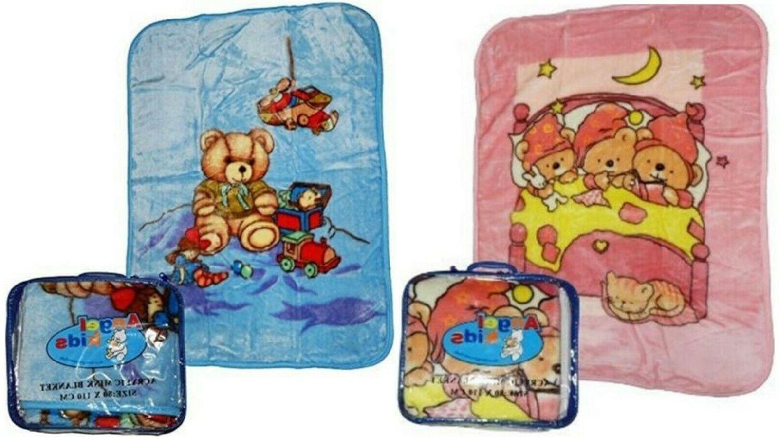 soft baby newborn toddler blanket pram crib