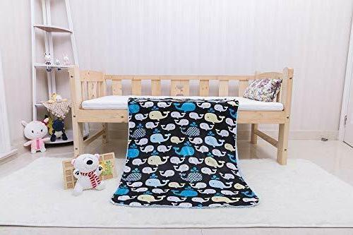 Soft Baby Newborn Toddler Blanket Basket Bedtime Unisex