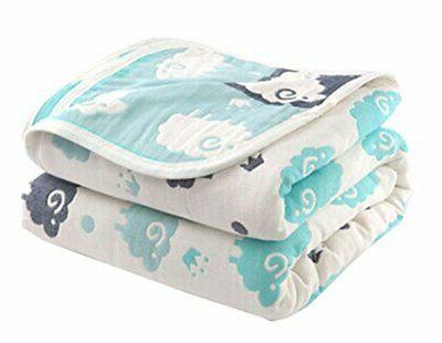 Soft Cotton Gauze Baby Towel Blanket Toddler Blankets Covere
