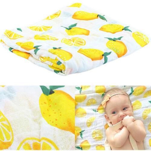 Soft Wrap Blanket Swaddle 115x115cm