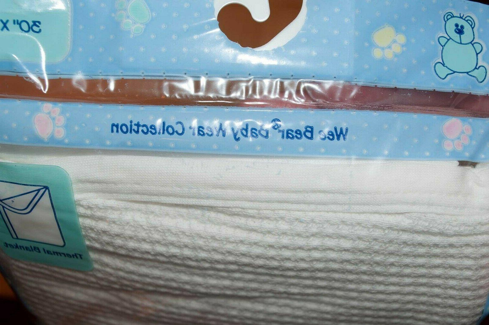 """Spencer's Thermal Baby Blanket, 30""""x40"""", New"""