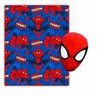 Spiderman Fleece Throw Blanket for Kids and Plush Stuffed To