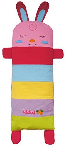 Striped Rabbit Cartoon Design Cotton Toddler Pillowcases Pin