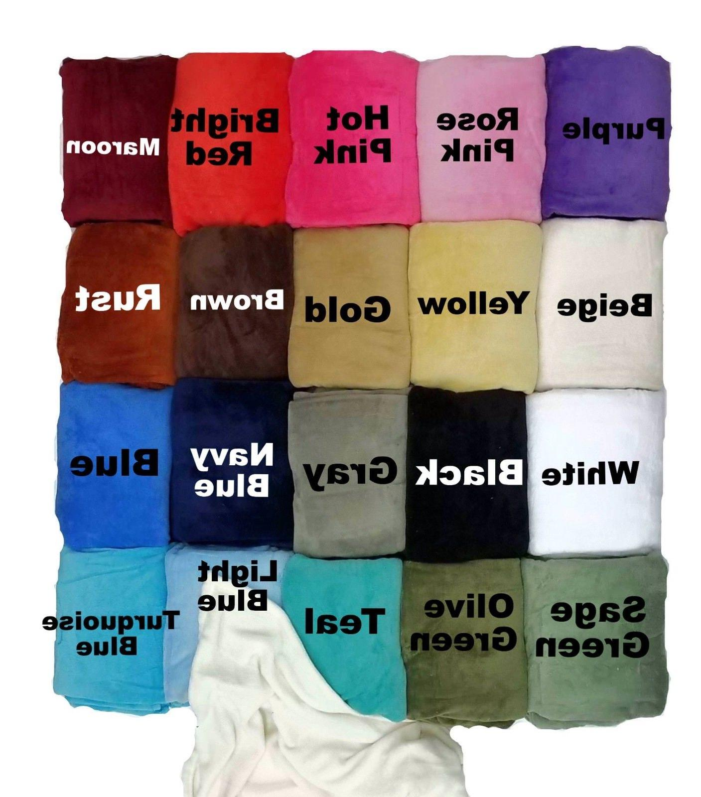 Sumptuous Winter Blanket Soft Throw Colors New!!!