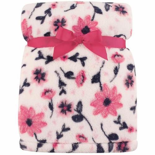 super plush blanket floral
