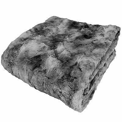 Chanasya Super Soft Fur Sherpa Throw