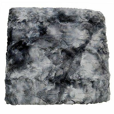 Chanasya Fur Sherpa Blanket