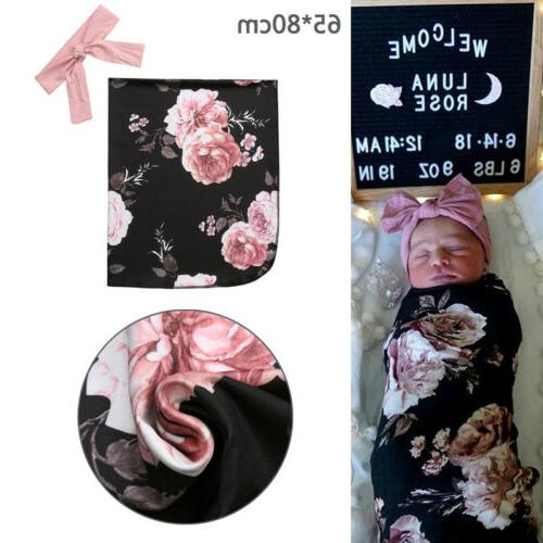 swaddle newborn baby cotton blanket sleeping bag