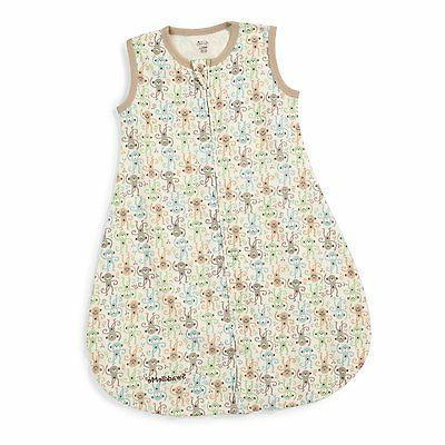 Summer Infant SwaddleMe Sack Wearable Blanket 100% Cotton Mo