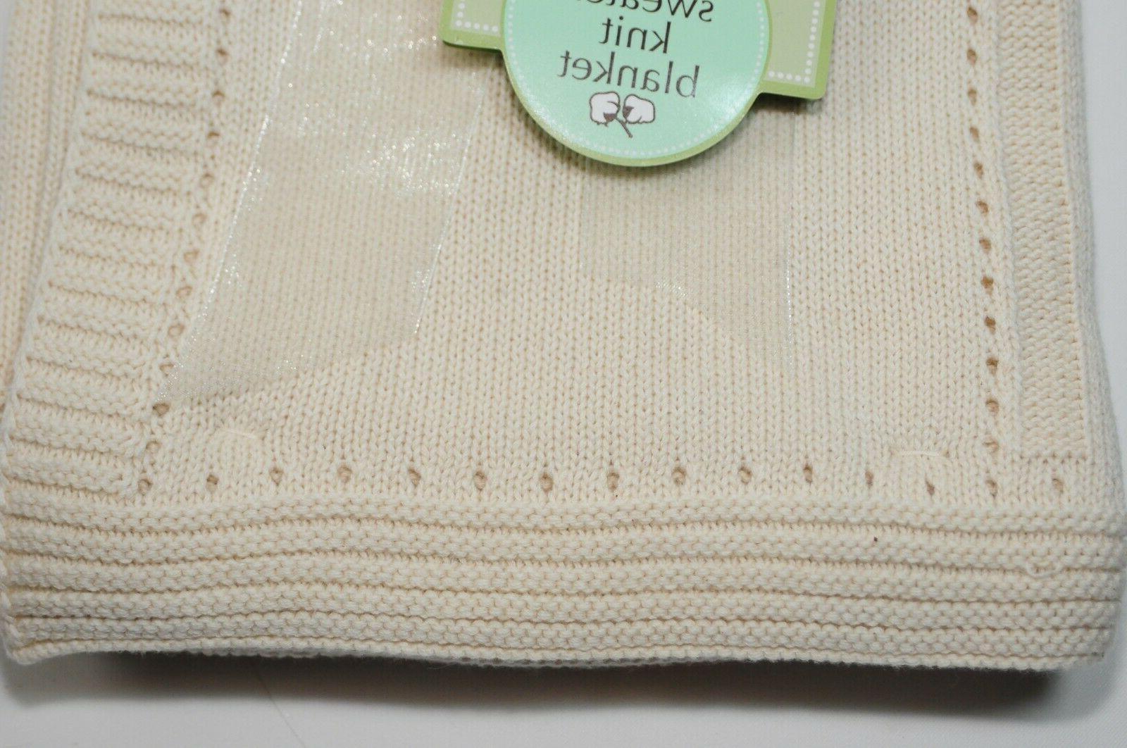 American Sweater Knit Blanket Organic