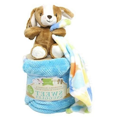 sweet snuggles baby security blanket puppy dog