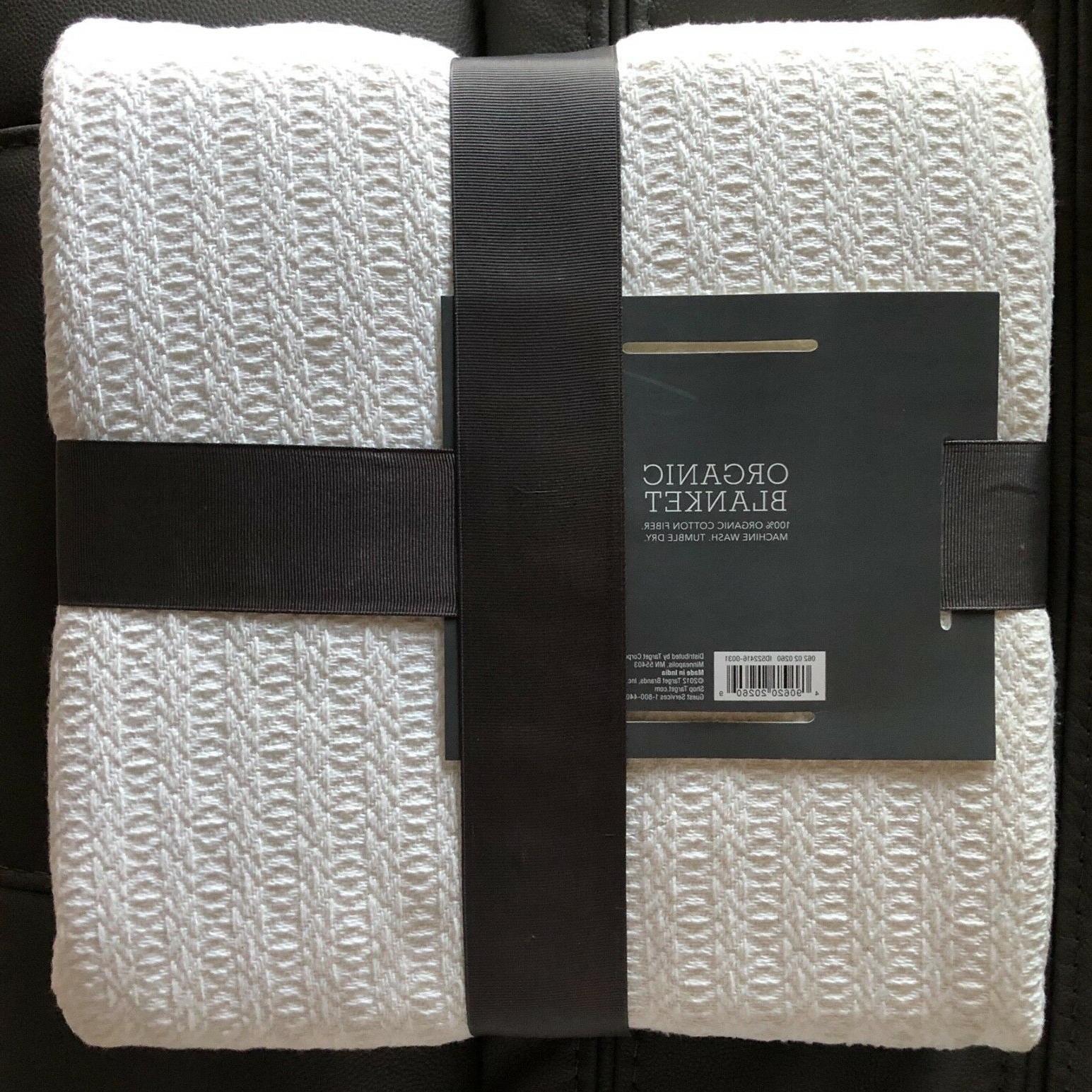 Threshold Organic Organic Fiber,Lightweight White