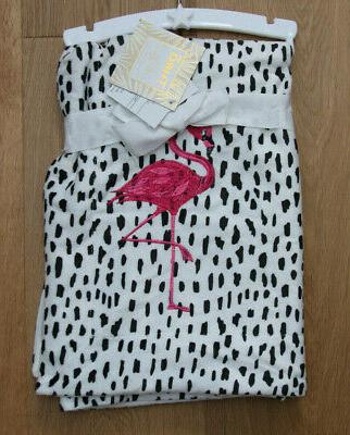 thro baby girl blanket white black