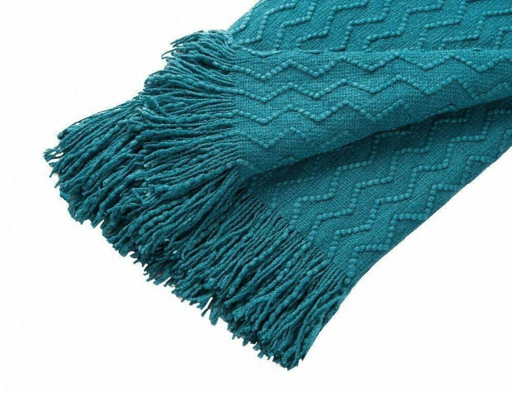 BOURINA Throw Blanket Knitted