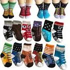 Todder 6 Pairs Non Sikd Shoe Socks Infant Baby Boy Anti Slip